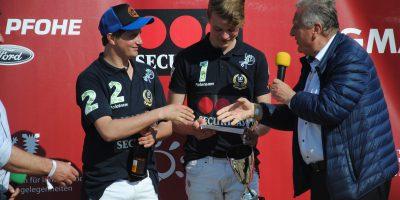 Die Gewinner: Enno Hubertus Grams & Patrick Maleitzke vom Team Securitas AG
