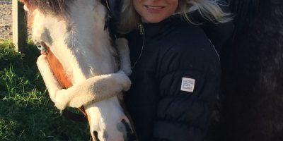 Reitsport-erleben Autorin Jessica Bunjes und Crawel wünschen FROHES NEUES JAHR